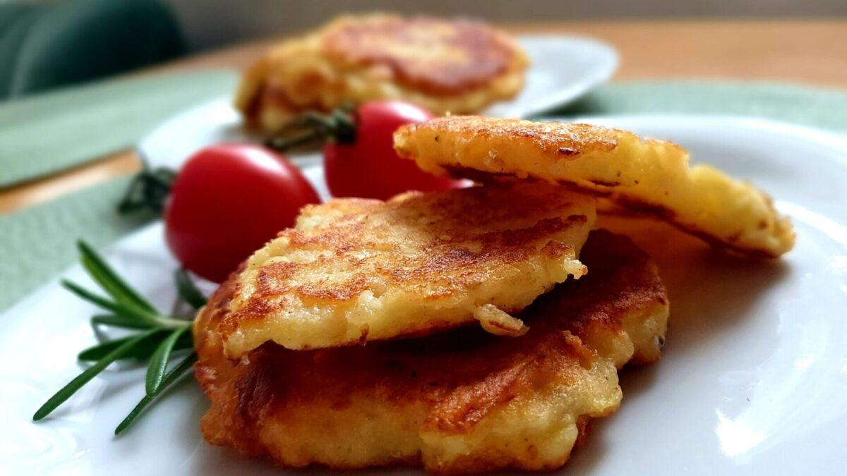 bramborové placky s rozmarýnem