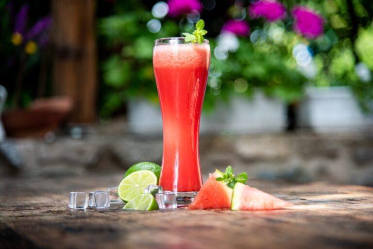 Letní drink meloun