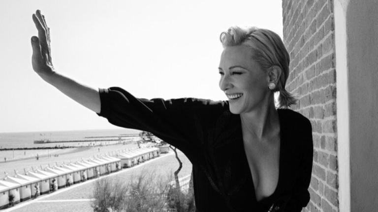 cate Blanchett v benatkach