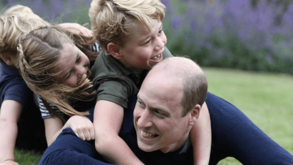 William a jeho tři děti