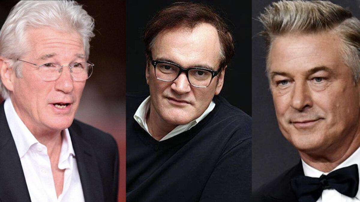 Gere, Tarantino, Baldwin