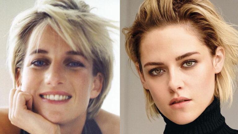 Kristen Stewart a princezna Diana