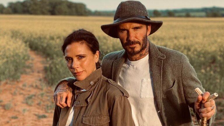 Victoria a David Beckham