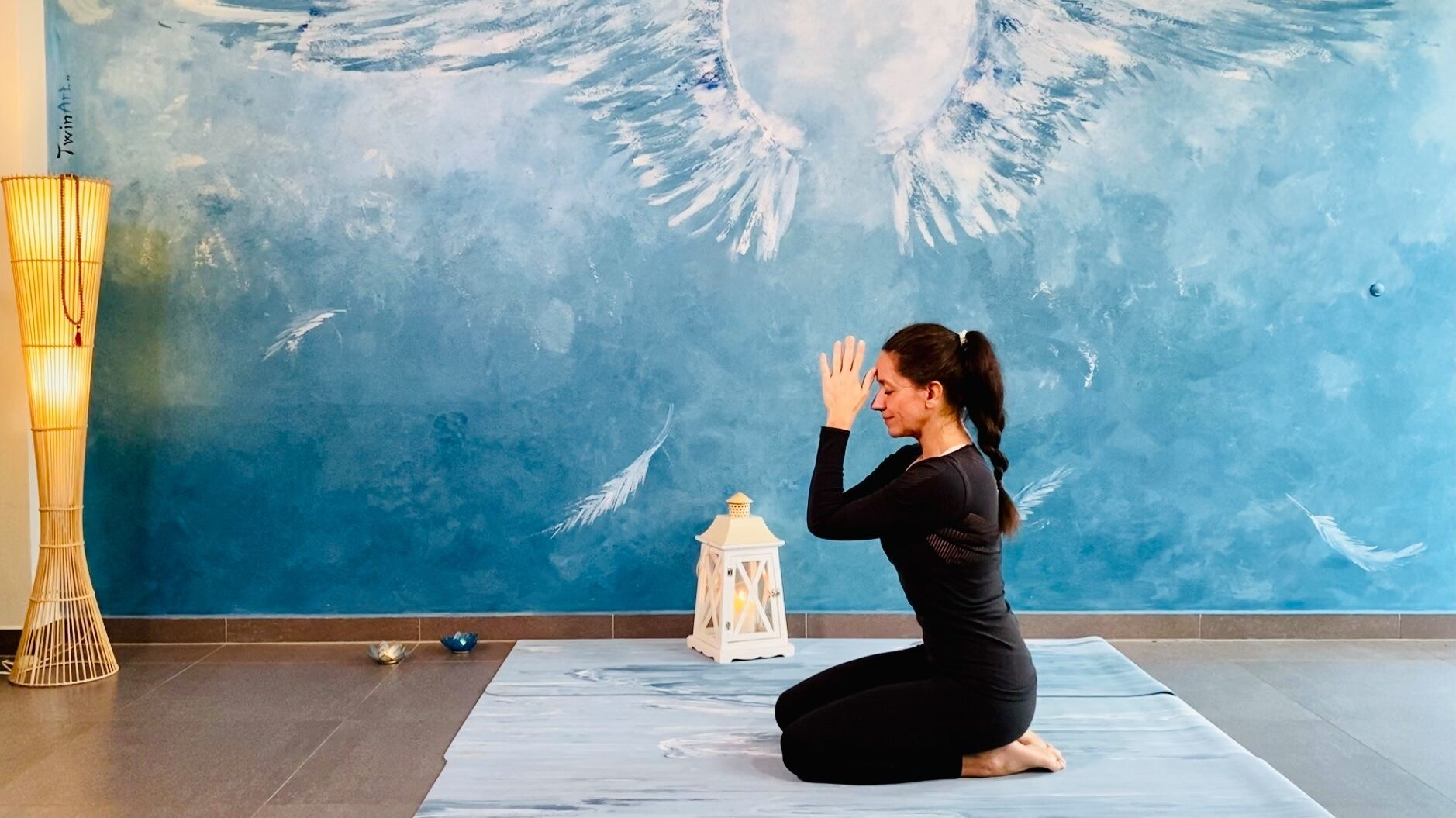 joga s Katarinou, něžné záklony