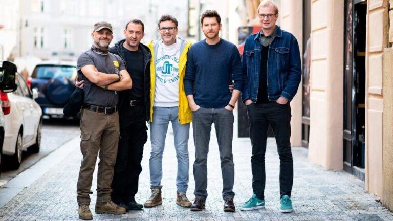 Patrik Hartl a jeho herci