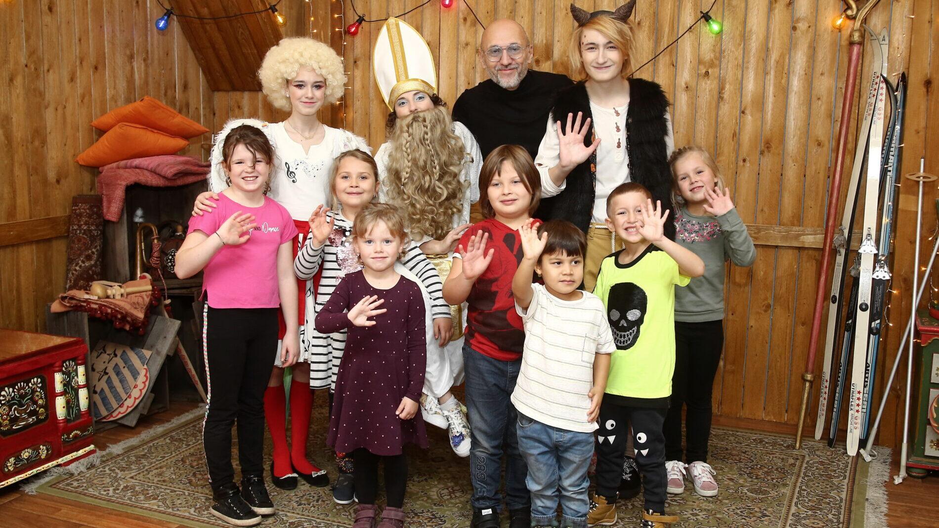 Mikuláš, čert, anděl TV pro děti
